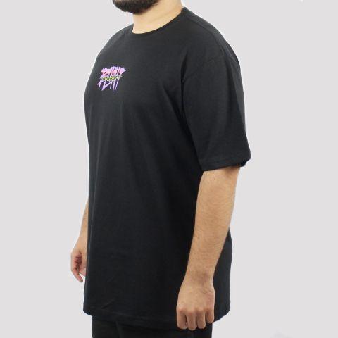 Camiseta Blunt Logo Open - Preta