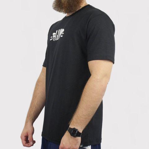 Camiseta Blunt Logo - Preto/Branco