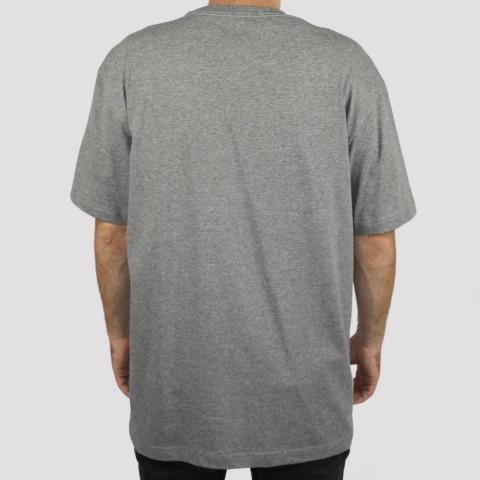 Camiseta Blunt Look - Mescla Preto