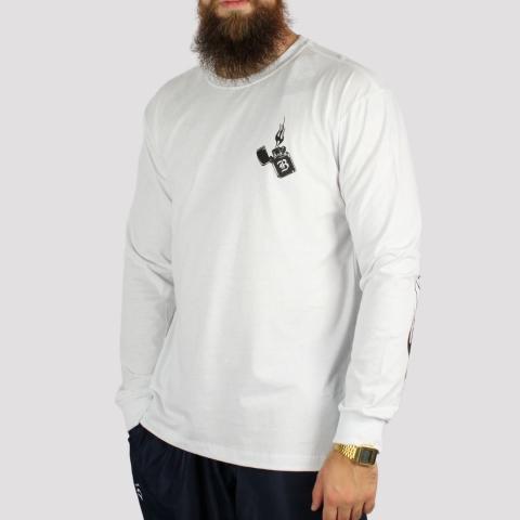 Camiseta Blunt Manga Longa Lighter - Branco