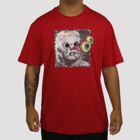Camiseta Blunt Marilyn - Bordô