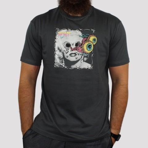 Camiseta Blunt Marilyn - Chumbo