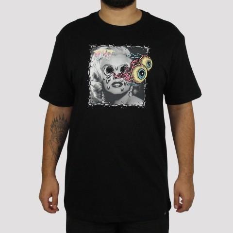 Camiseta Blunt Marilyn - Preta