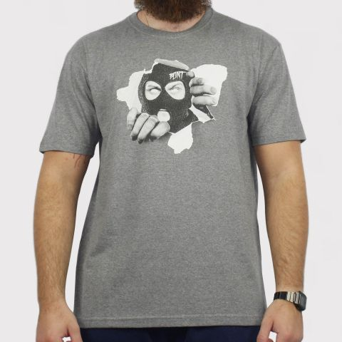 Camiseta Blunt Masked - Cinza Mescla