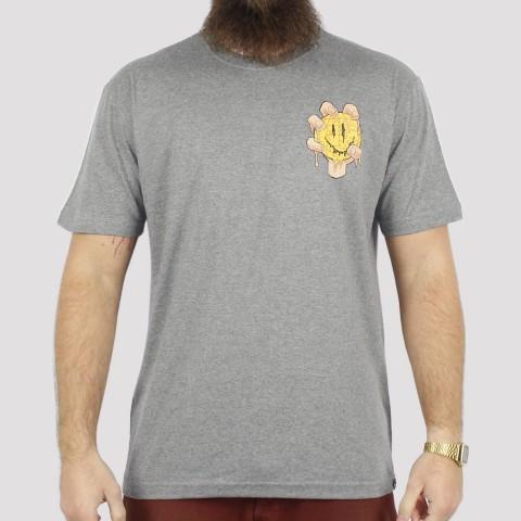 Camiseta Blunt Melting - Cinza Mescla Escuro