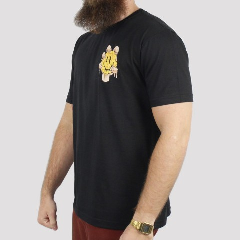 Camiseta Blunt Melting - Preto