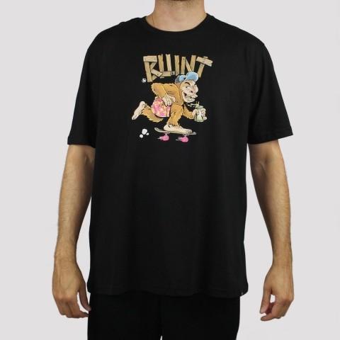 Camiseta Blunt Monkey - Preto