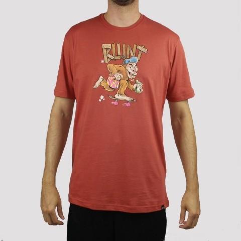 Camiseta Blunt Monkey - Vermelho