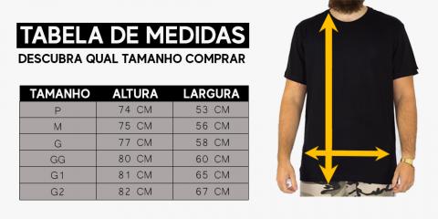 Camiseta Blunt Rhombus - Preto