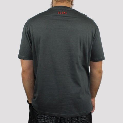 Camiseta Blunt Roar - Chumbo