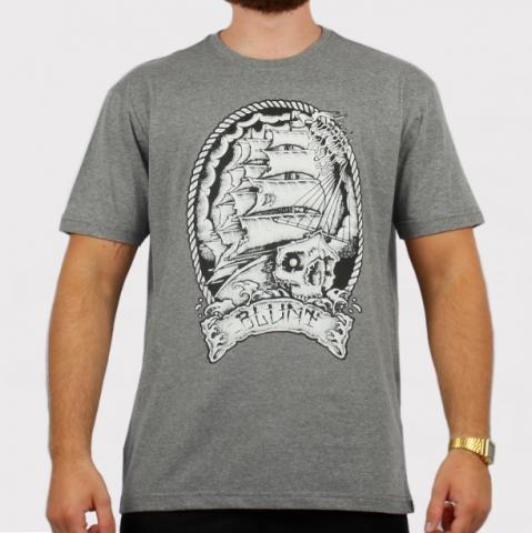 Camiseta Blunt Sail Boat - Cinza Mescla