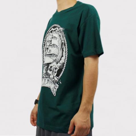 Camiseta Blunt Sail Boat - Verde