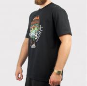 Camiseta Blunt Smoking Planet Preto