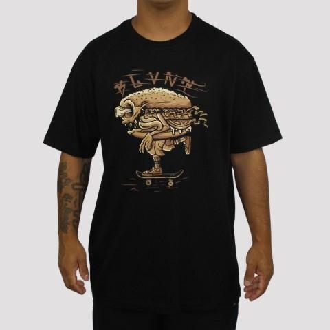 Camiseta Blunt Snack - Preta