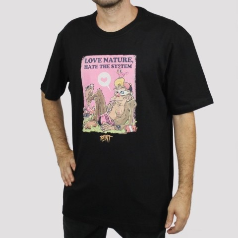 Camiseta Blunt System - Preto