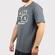 Camiseta Blunt Television - Chumbo