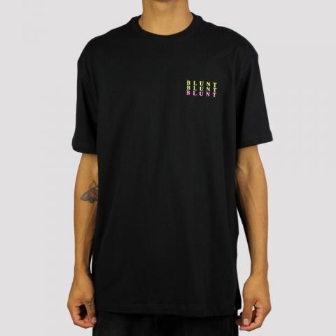 Camiseta Blunt Three - Preto