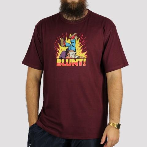 Camiseta Blunt Topple - Vinho