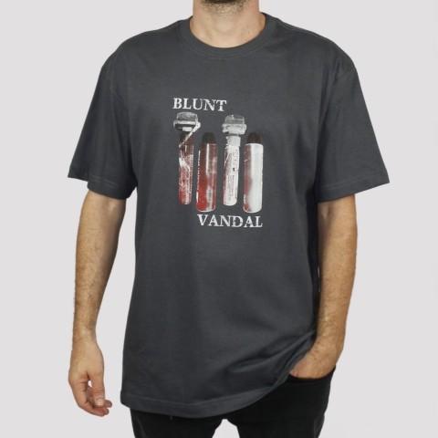 Camiseta Blunt Vandal - Chumbo