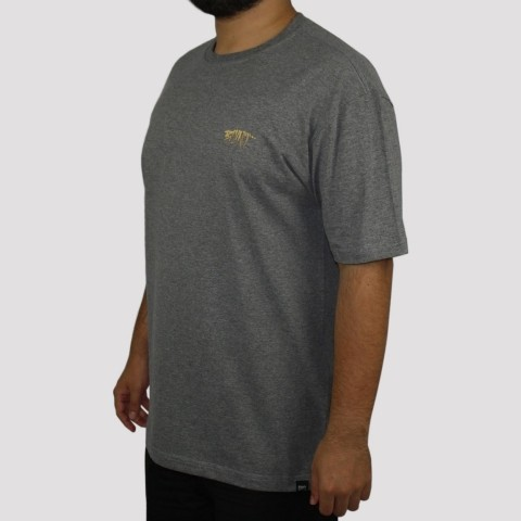 Camiseta Blunt Zombie - Cinza Mescla