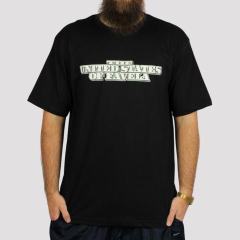 Camiseta Brothas And Cash Favela - Preto