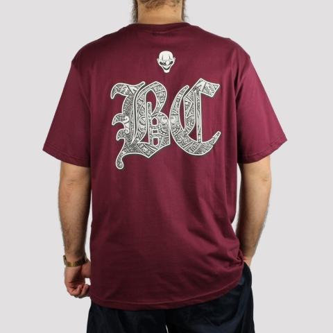 Camiseta Brothas And Cash - Vinho