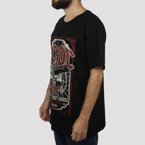 Camiseta Chemical ACDC Cannon - Preta