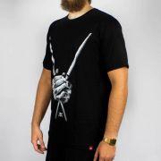 Camiseta Chemical Baqueta Preta