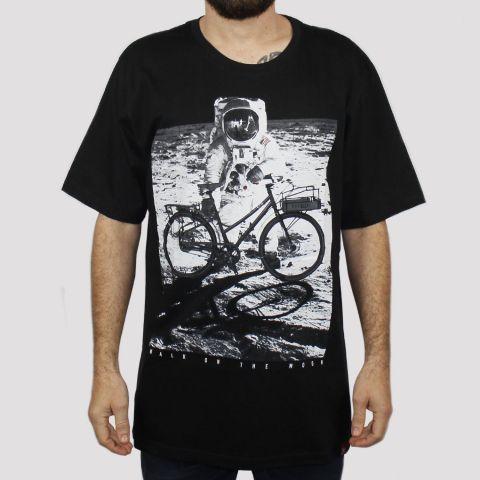 Camiseta Chemical Bike Moon - Preta