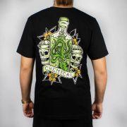 Camiseta Chemical Botle Polvo Preta