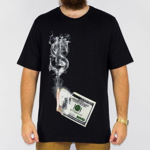 Camiseta Chemical Dollar Preta