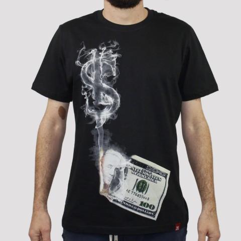 Camiseta Chemical Dollar - Preta