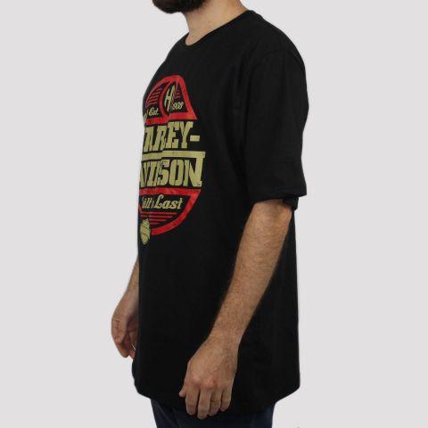 Camiseta Chemical Harley Davidson - Preta