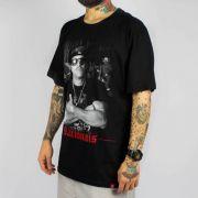 Camiseta Chemical Mano Brow Preta (Tamanho Especial)