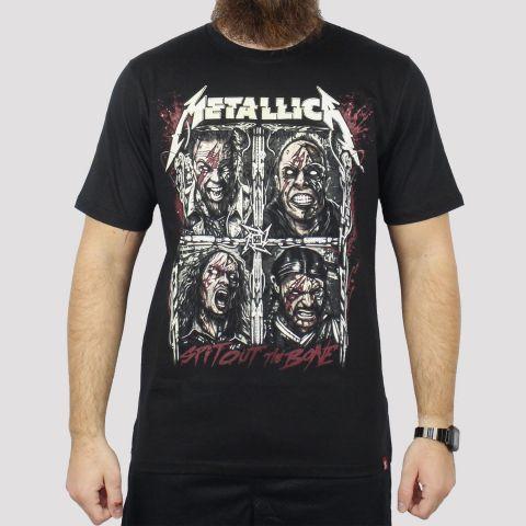 Camiseta Chemical Metallica - Preta
