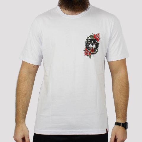 Camiseta Chemical Onça Old - Branca