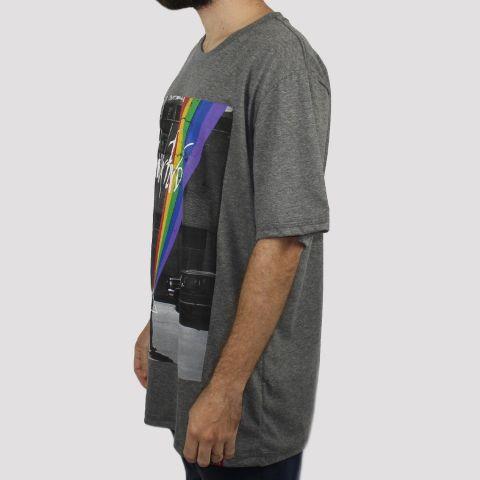 Camiseta Chemical Pink Floyd - Mescla