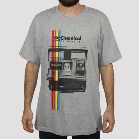 Camiseta Chemical Polaroid Photo - Mescla