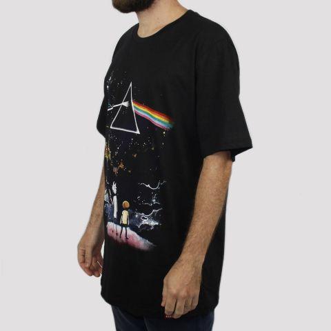 Camiseta Chemical Prism - Preta