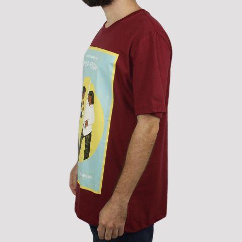 Camiseta Chemical Pulp Fiction - Vinho