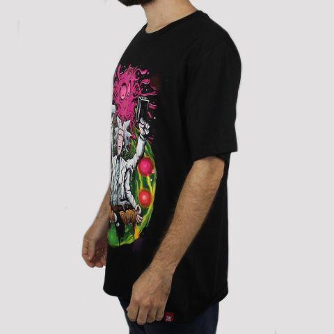 Camiseta Chemical Ricky Zen - Preta