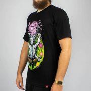 Camiseta Chemical Ricky Zen Preta (Tamanho Especial)