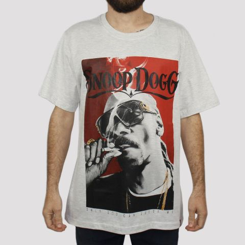 Camiseta Chemical Snoop Dog - Mescla Claro