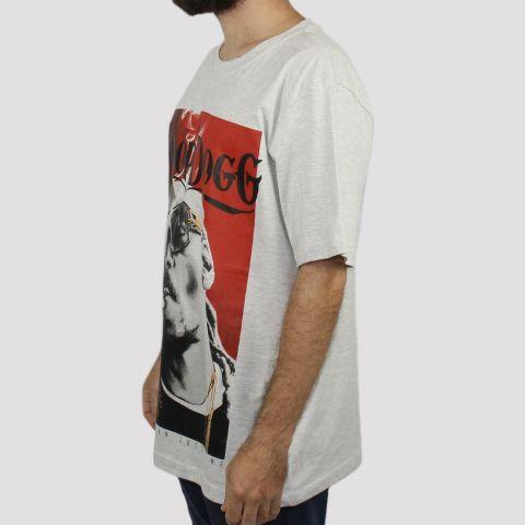 Camiseta Chemical Snoop Dog (Tamanho Extra) - Mescla Claro