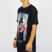 Camiseta Chemical Tupac Preta