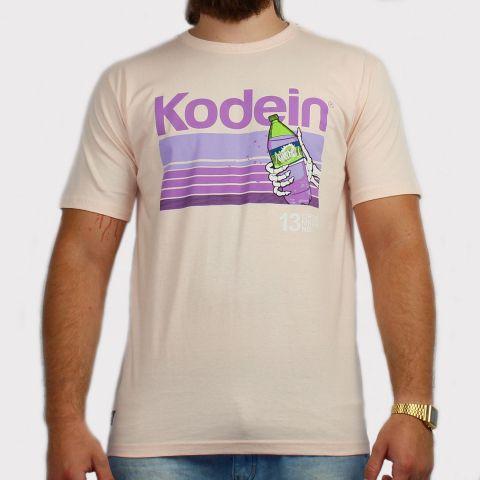 Camiseta Chronic Kodein - Rosa Bebê