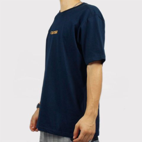 Camiseta Chronic Logo - Azul Marinho