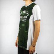 Camiseta Conduta California Camuflada Verde