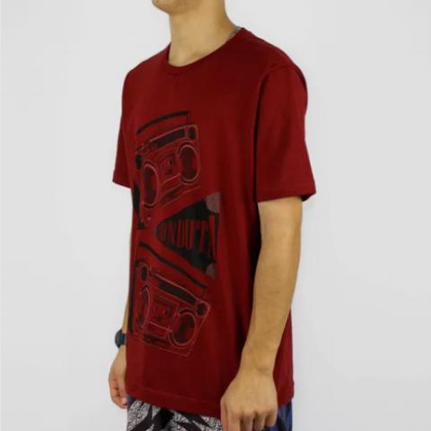 Camiseta Conduta Radio - Vermelho