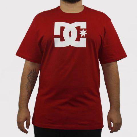 Camiseta DC Shoes Logo - Vermelha